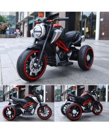 Ел-мобіль T-7236 EVA RED мотоцикл 2*6V4.5AH мотор 2*15W з MP3 102*51*59 /1/