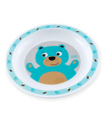 Тарелка пластиковая Canpol babies Honey Bear