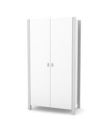 Шкаф Верес Монако 960 Бело-серый