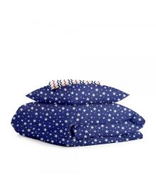 Комплект детского постельного белья STARFALL BLUE /зигзаг сине-красный/ StarBlue_Zig_140
