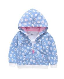 Кофта для девочки Berni Ромашка Блакитний (SH-1446-SK-A057) Berni Kids