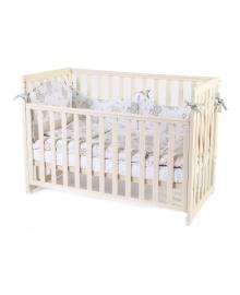 Детская кроватка Верес Соня ЛД13 съемная спица Слоновая кость