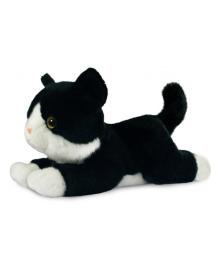 Мягкая игрушка Aurora Котенок черно-белый, 25 см