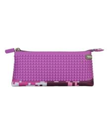 Пенал Upixel Camouflage фиолетовый/бело-розовый