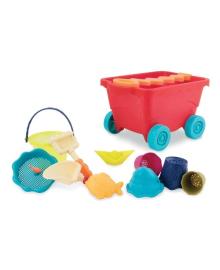 Набор для игры с песком и водой Battat Тележка Манго