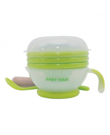 Набор для кормления Baby Team 5 предметов
