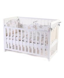 Детская кроватка Верес Соня ЛД13 съемная спица Белая
