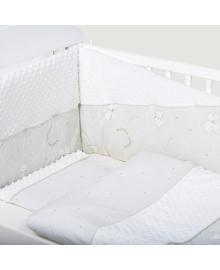 Комплект постельного белья Bubaba Minky White 6 эл