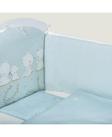 Комплект постельного белья Bubaba Blue Teddy Dream 6 эл