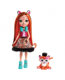 Кукла Enchantimals Тензи Тигр