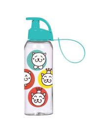 Бутылка для воды Herevin Cat Smile голубая 0.5 л 161415-170, 8699038047105