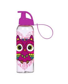 Бутылка для воды Herevin Owl сиреневая 0.5 л  161415-150, 8699038047082
