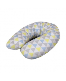 Подушка для кормления Ceba Cebushka Multi Triangle blue-yellow jersey Ceba Baby W-741-067-019, 5907672319421