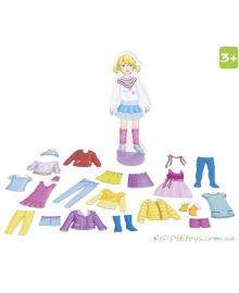 Магнитная Кукла с Одеждой, GOKI 58531