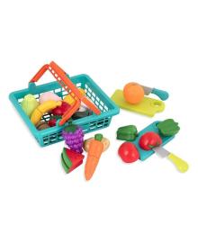 Игровой набор Battat Овощи-фрукты на липучках