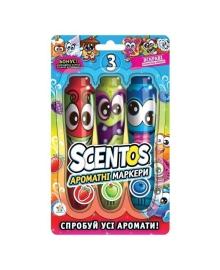 Набор ароматных маркеров Scentos Фрутти Трио 3 шт 17102