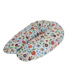 Подушка для кормления Ceba Baby Physio Multi цветы 190x35