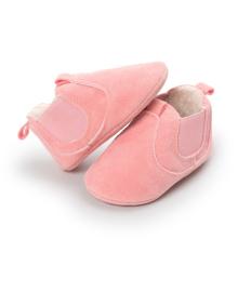 Детские пинетки Lapchu PW1118G Рожевий 19 (11,5 см)