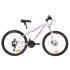 """Велосипед 26"""" Formula MYSTIQUE 1.0 AM 14G DD Al 2019 (бело-голубой с фиолетовым)"""