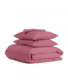 Комплект семейного постельного белья сатин PUDRA Сатин_Пудра_160x2
