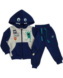 Спортивный костюм для мальчика Монстрик Bembi КС560