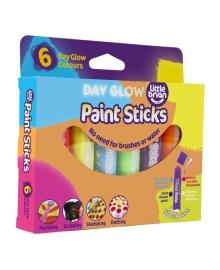 Фломастеры-краски Paint Sticks неон 6 шт LBPS10DA6