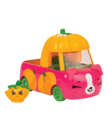 Мини-машинка Shopkins Cutie Cars S3 Бусик-тыковка с мини-шопкинсом 56734