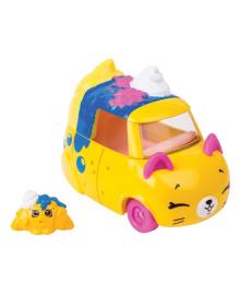 Мини-машинка Shopkins Cutie Cars S3 Седан-круассан с мини-шопкинсом 56749