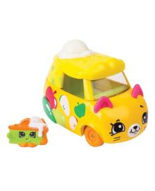 Мини-машинка Shopkins Cutie Cars S3 Быстрый пирожок с мини-шопкинсом 56772