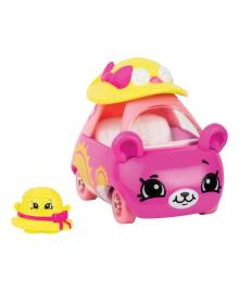Мини-машинка Shopkins Cutie Cars S3 Дама-панама с мини-шопкинсом 57116