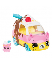 Мини-машинка Shopkins Cutie Cars S3 Шейк-мобиль с мини-шопкинсом 57117