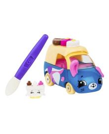 Мини-машинка Shopkins Cutie Cars S3 Меняем цвет - Ралли-рожок с мини-шопкинсом и кисточкой 57130