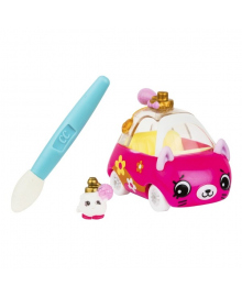 Мини-машинка Shopkins Cutie Cars S3 Меняем цвет - Парфюм-врум с мини-шопкинсом и кисточкой 57132