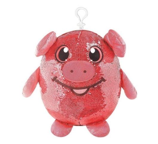 Мягкая игрушка Shimmeez Забавная свинка
