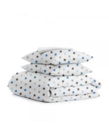 Комплект полуторного постельного белья STAR BLUE WHITE StarBlue_White_160, 4822067195279
