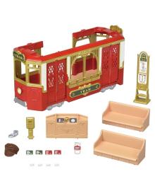 Игровой набор Sylvanian Families Трамвай 6007, 5054131060070