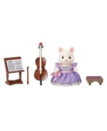 Игровой набор с фигуркой Sylvanian Families Концертный набор - виолончель 6010, 5054131060100