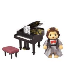 Игровой набор с фигуркой Sylvanian Families Концертный набор - фортепиано 6011, 5054131060117