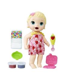 Кукла Baby Alive Малышка Лили со снеками