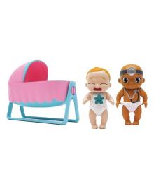 Игровой набор Baby Secrets Пупсы с колыбелькой 77021