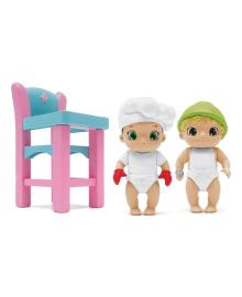 Игровой набор Baby Secrets Пупсы со стульчиком 77023, 9317454770238