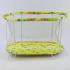 Детский манеж  №8 Спанч Боб овальный, мягкое дно, крупная сетка