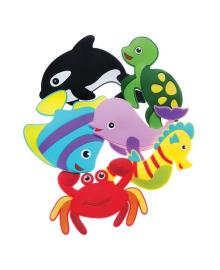 Набор мини-ковриков KinderenOk Fixi Морские животные