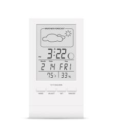 Цифровой термогигрометр с часами Стеклоприбор Т-14 (в ассорт) 402349, 4820169580368