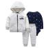 Комплект для мальчика 3 в 1 Маленький мужчина Berni SH-1446-HA07607