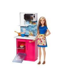 Игровой набор Barbie Набор мебели и кукла (в ассорт.)
