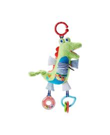 Мягкая игрушка-подвеска Fisher-Price Крокодил