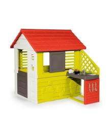 Домик Smoby Дачный с летней кухней 810702