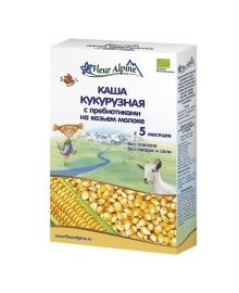 Каша Fleur Alpine кукурузная с пребиотиками на козьем молоке 200 г