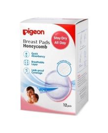 Лактационные вкладыши Pigeon Honeycomb 12 шт.
